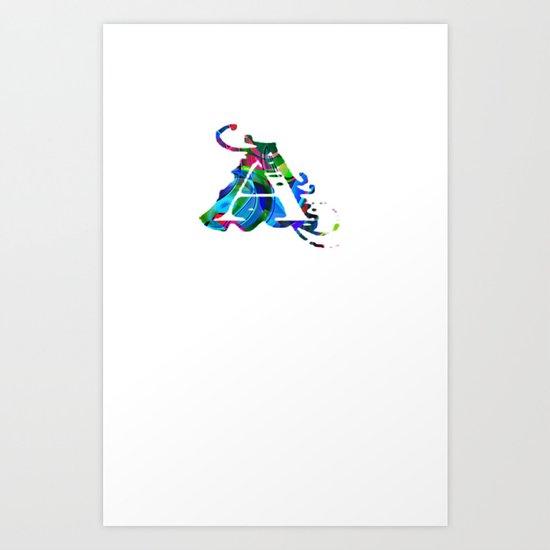 A art Art Print
