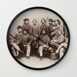 Colonel John Mosby - Mosby's Rangers Photo - Civil War Wall Clock