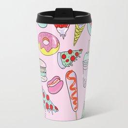 Pastel Junk Food Travel Mug