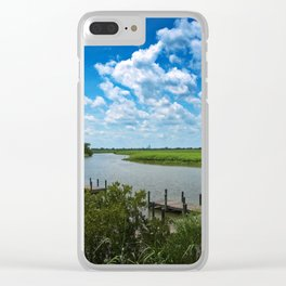 Tensaw River Delta Clear iPhone Case