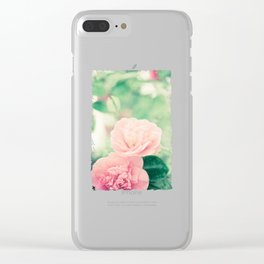 Joie de vivre - floral photography Clear iPhone Case