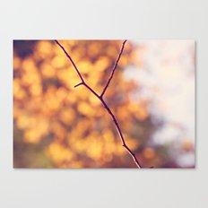 Autumn Branch Canvas Print