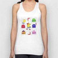game Tank Tops featuring Winter game by andy_panda_