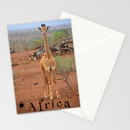 Baby Giraffe Stationery Cards