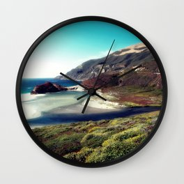 Pacific Coast Highway Scenic Wall Clock