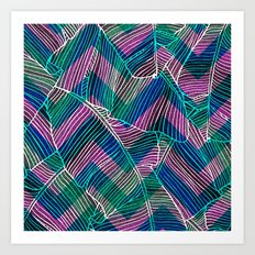 Foliage Pattern Art Print