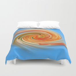 The whirl of life, W1.7C Duvet Cover