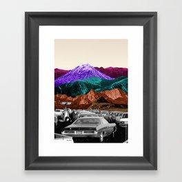 Run by dreams not petrol Framed Art Print