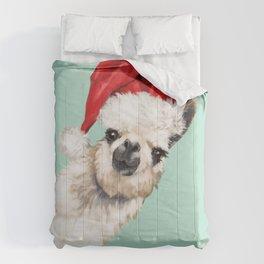 Christmas Sneaky Llama Comforters