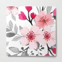 FLOWERS WATERCOLOR 11 Metal Print