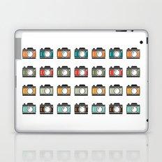Colourful Camera Icons Laptop & iPad Skin