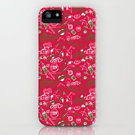 Traditional Christmas Medley - by Jezli Pacheco iPhone Case