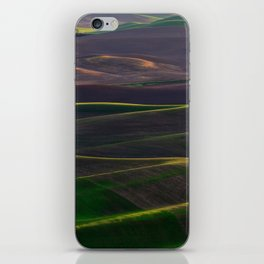 The Palouse Hills at Sunset iPhone Skin
