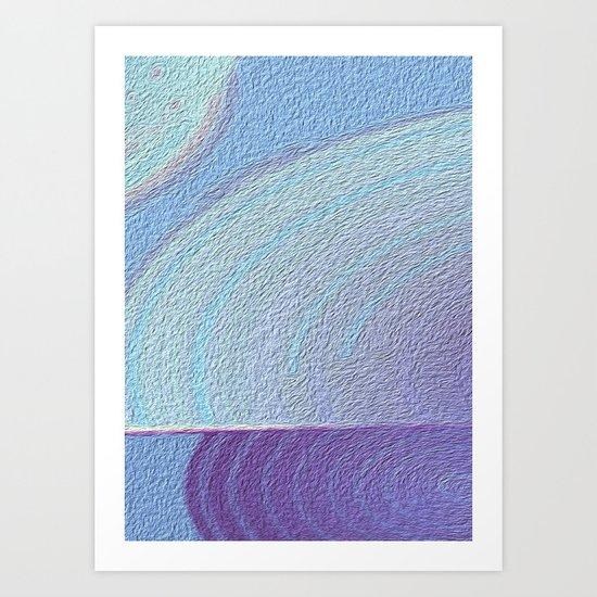 Our Orbits Art Print