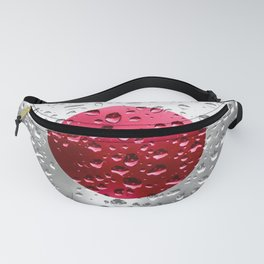 Flag of Japan - Raindrops Fanny Pack