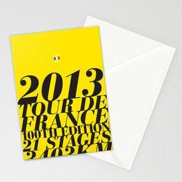 2013 Tour de France: Maillot Jaune Stationery Cards