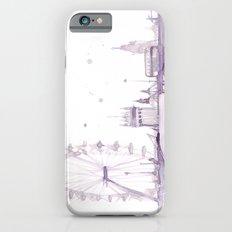 Watercolor landscape illustration_London Eye Slim Case iPhone 6s