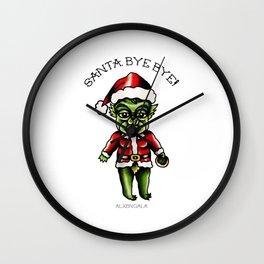 Baby Grinch Kewpie Wall Clock