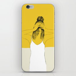 Yellow Winter iPhone Skin