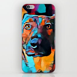 German Shepherd 7 iPhone Skin