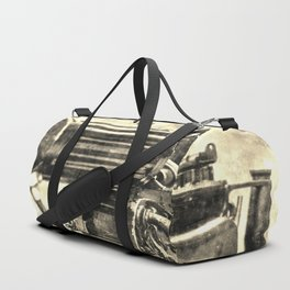 Vickers Machine Gun Vintage Duffle Bag