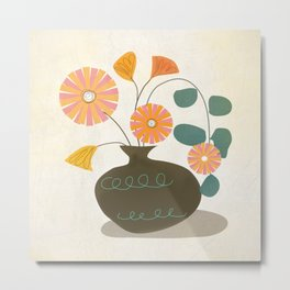 BuBunch Metal Print