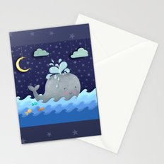 One Wonderful Whale With Fabulous Fishy Friends Stationery Cards