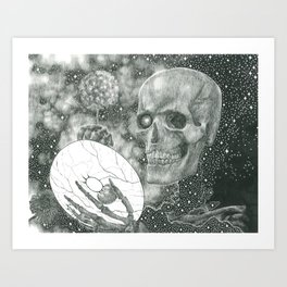 The Riddle Of Eyes (17/17) Art Print