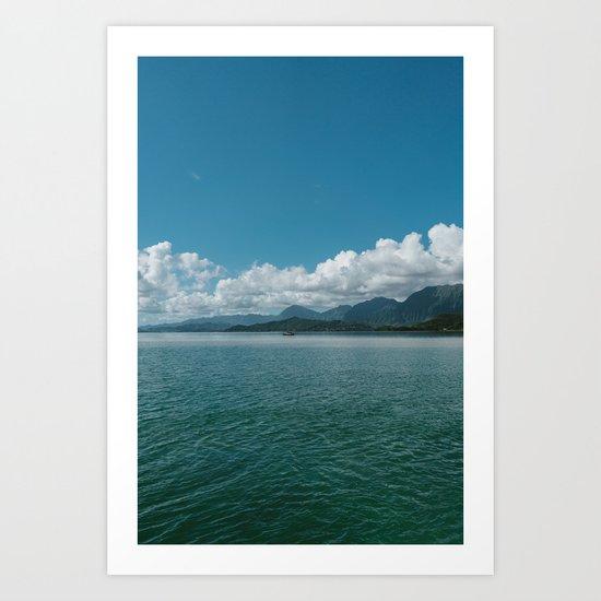 Hawaiian View Art Print
