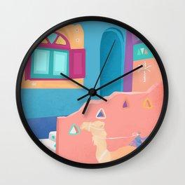Egypt, Nubian Village Wall Clock