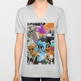 Monsters Unisex V-Neck