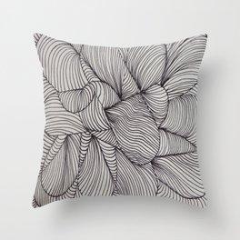 Black Forms III Throw Pillow
