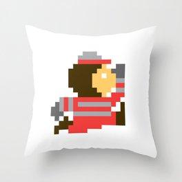 8bit Brutus Throw Pillow