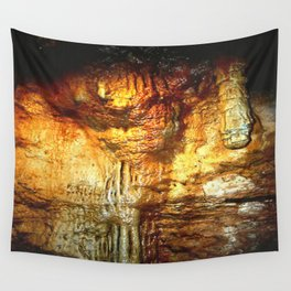 Reflections inside a Dolomite Cave Wall Tapestry