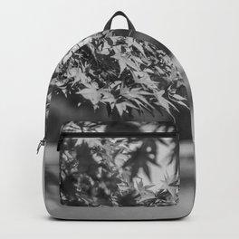 Autumn Scene (Black and White) Backpack