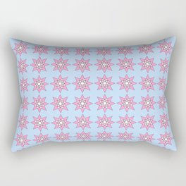 Stars 2- sky,light,rays,pointed,hope,estrella,mystical,spangled,gentle. Rectangular Pillow