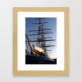 The Cutty Sark Clipper Framed Art Print