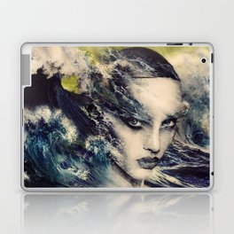 THE STORY OF A LACING WAVE Laptop & iPad Skin