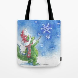 Winter Wizard Tote Bag