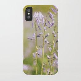 bluebells iPhone Case