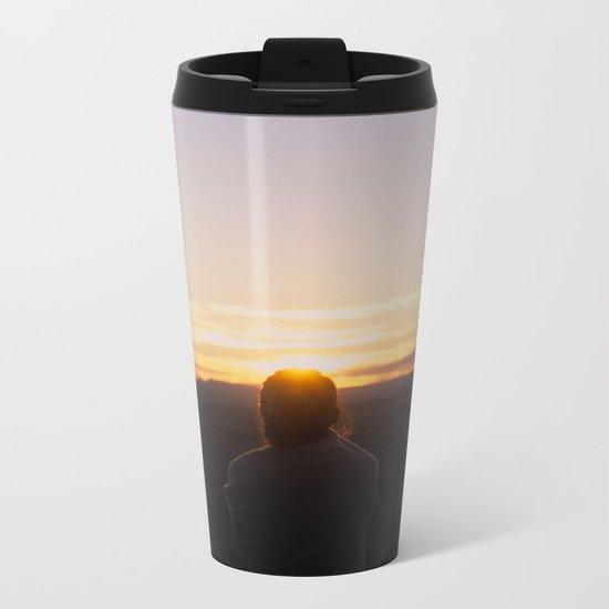 one sunday at a time Metal Travel Mug