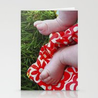 feet Stationery Cards featuring Feet by Cristina Serrano