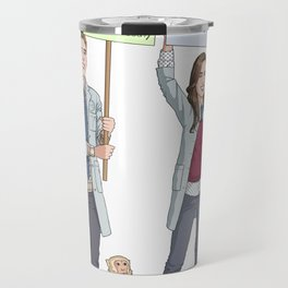 Fitzsimmons - Science March Travel Mug