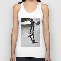 skateboard Tank Tops featuring Skateboard by Chiarra Mandato