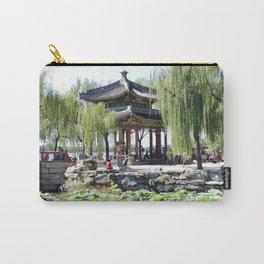 Ancient Imperial Garden of the Qing Dynasty   Ancien Jardin Impérial de la dynasty de Qings Carry-All Pouch