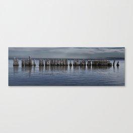 Pillars of Salt Canvas Print