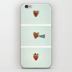 Strawberry Sneeze iPhone & iPod Skin