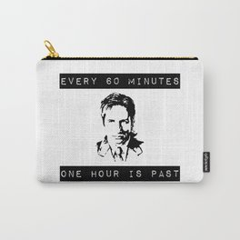FOX MULDER QUOTE Carry-All Pouch