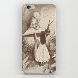 Alice in Wonderland With the Caterpillar iPhone Skin