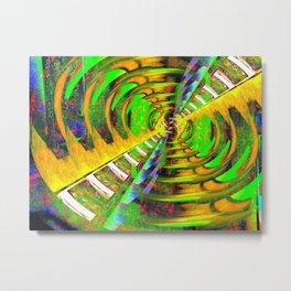 Fissure Metal Print